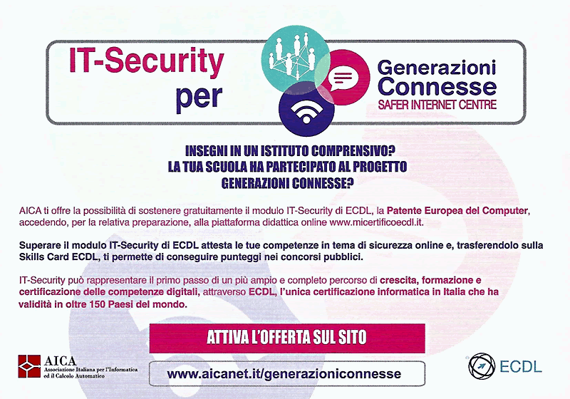 IT Security generazioni connesse